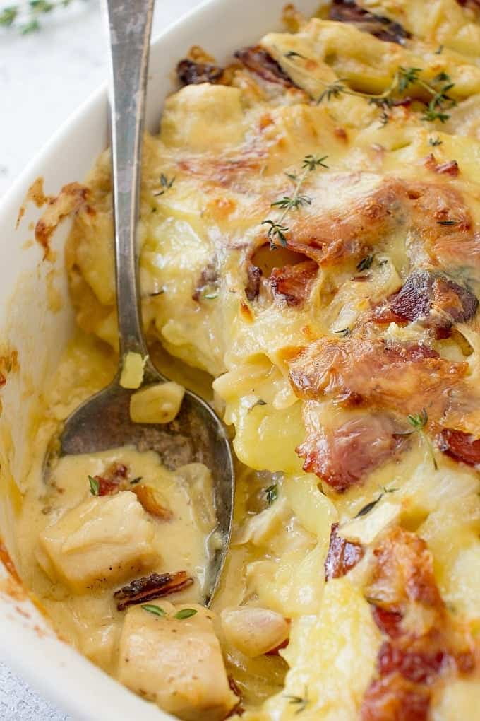 Chicken Tartiflette Recipe