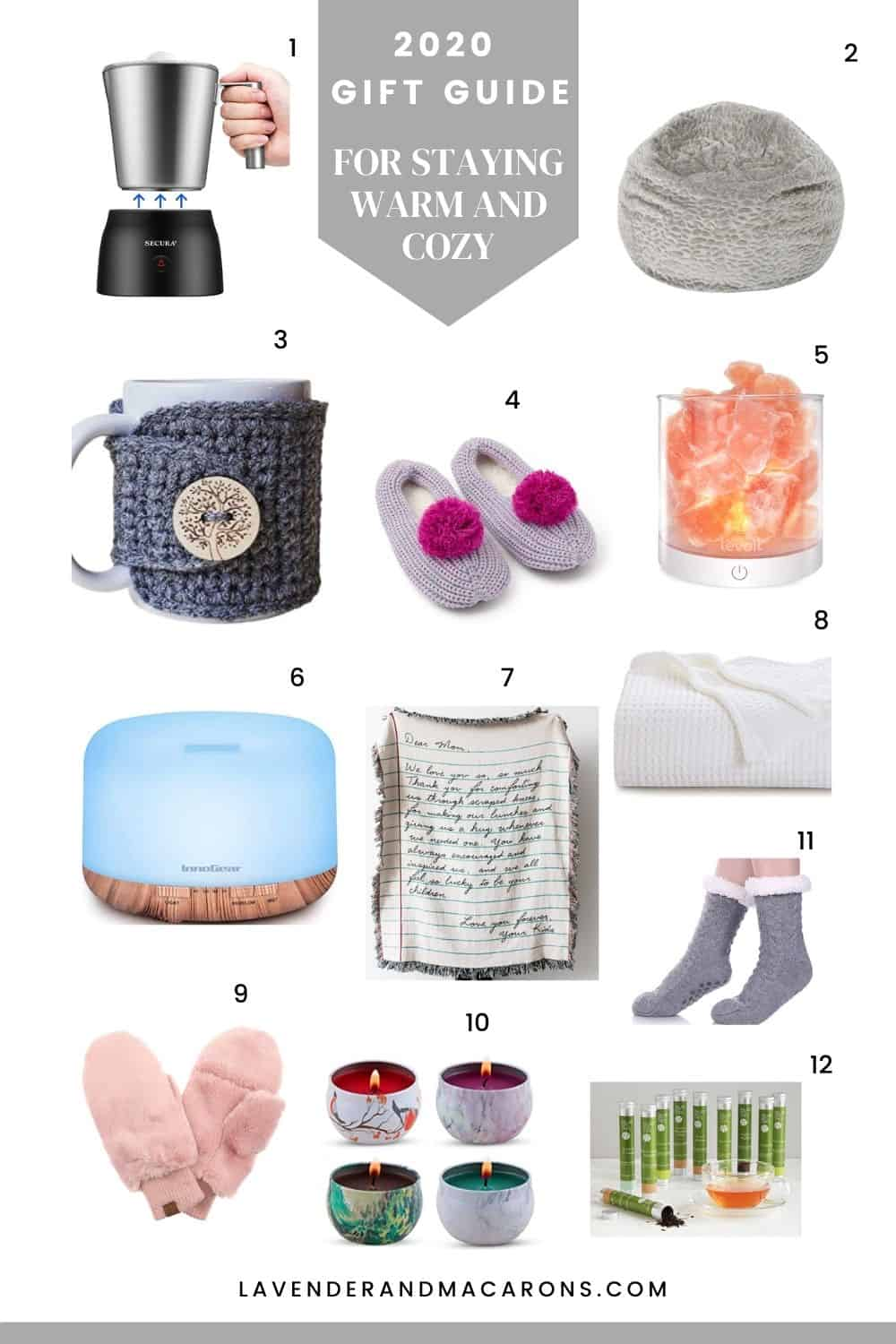 2020 gifts for staying warm and cozy