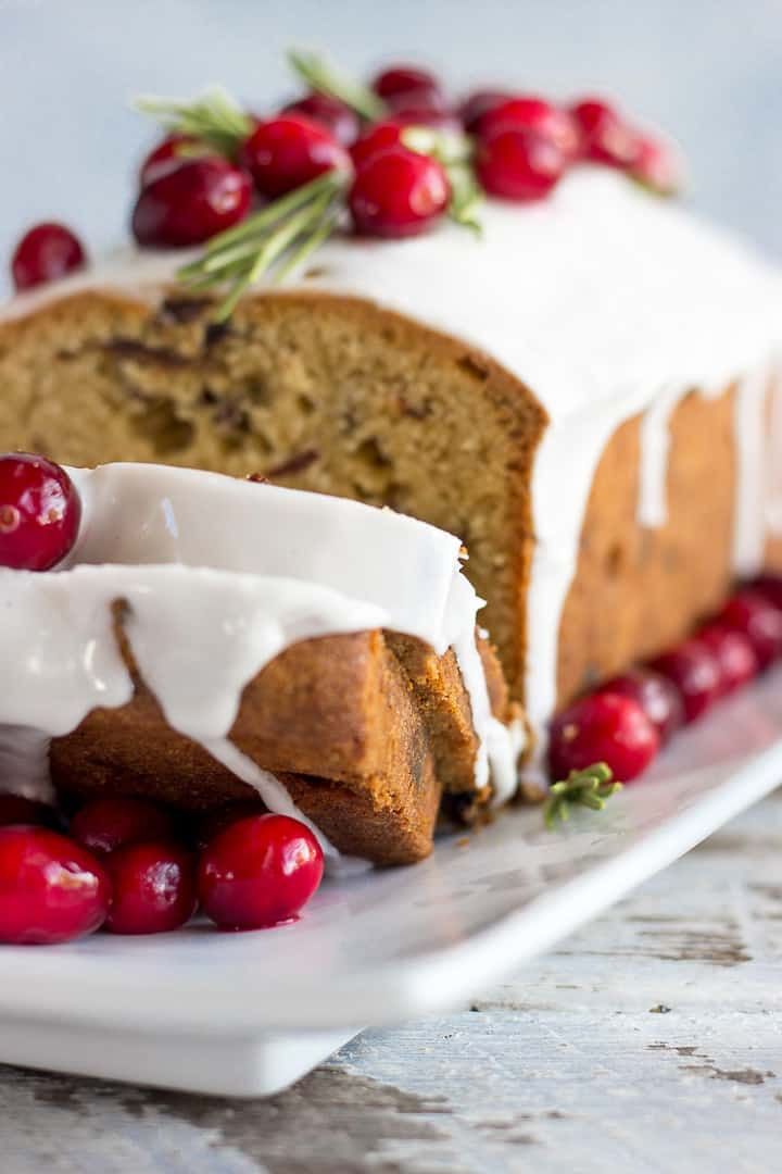 Dry Fruit Cake With White Glaze