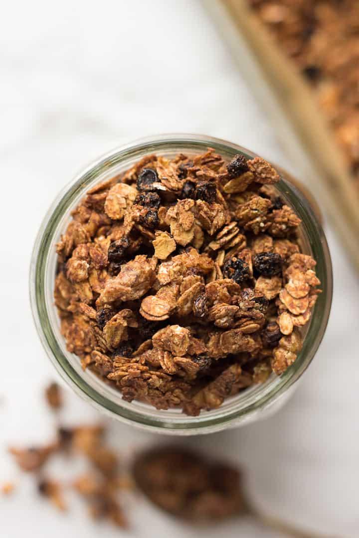Vegan Tahini Granola