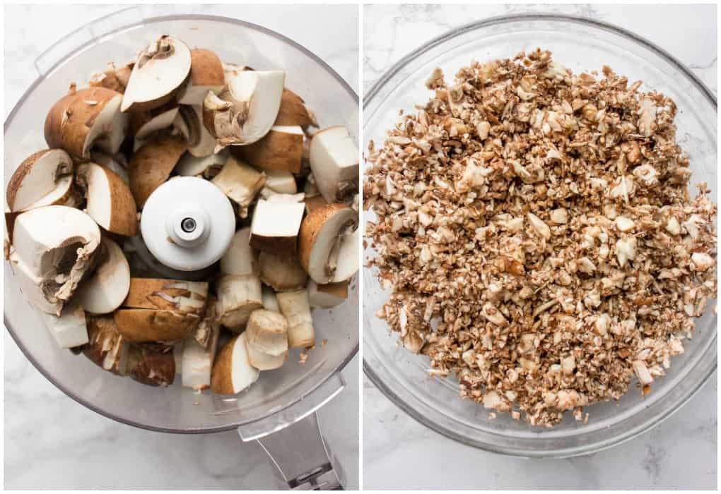 How to make ground mushrooms