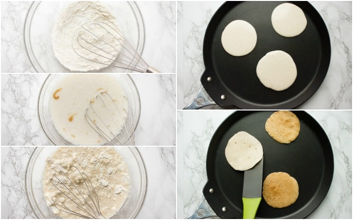 how to make cassava flour pancakes