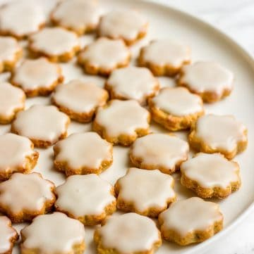 cookies on a plate