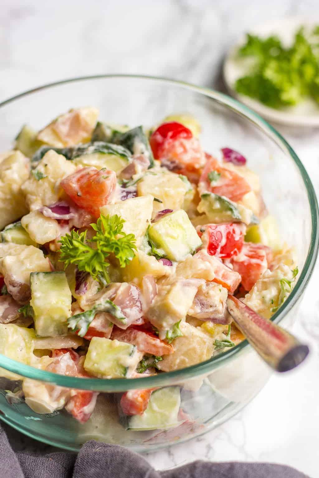 Photo of Potato Salad without mayo