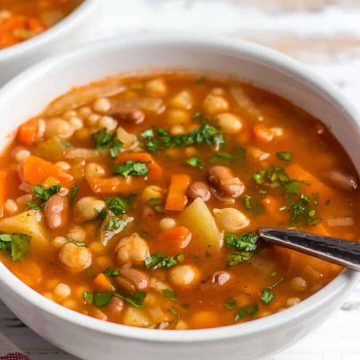 Vegan Minestrone Longevity