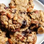 Vegan Cookie Recipe with Chocolate Chips, nuts and dried fruit