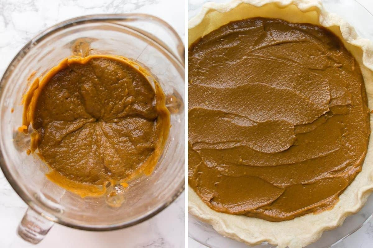 how to make pumpkin pie filling