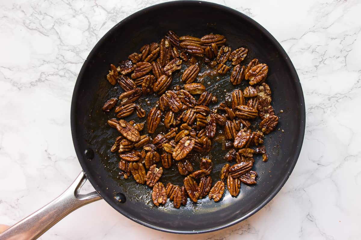 How to toast Pecans