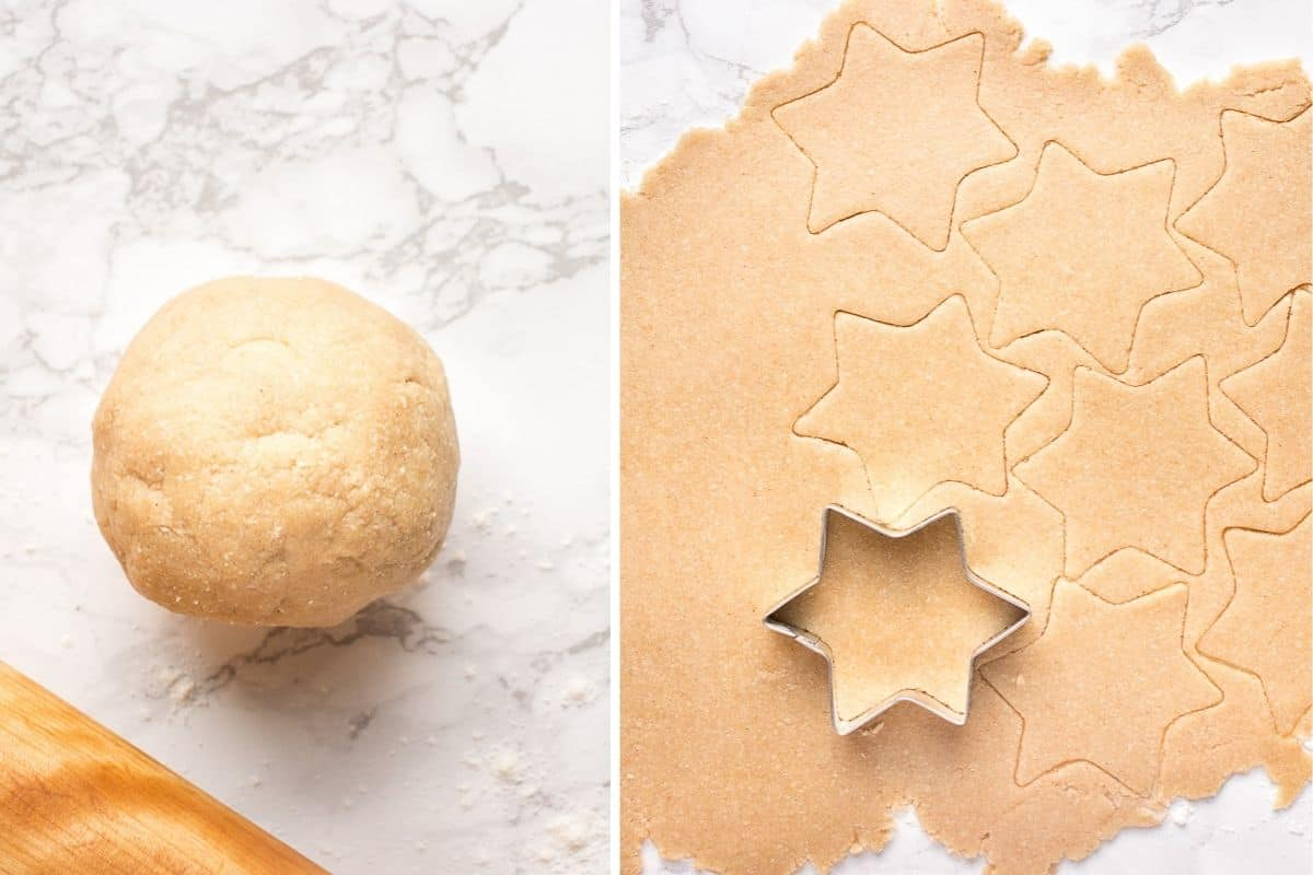 How to make Christmas vegan cookies