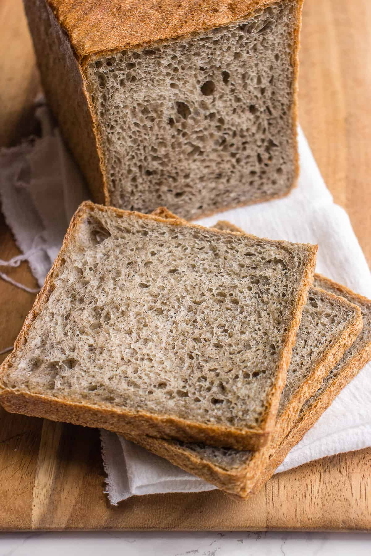 Homemade multigrain bread recipe