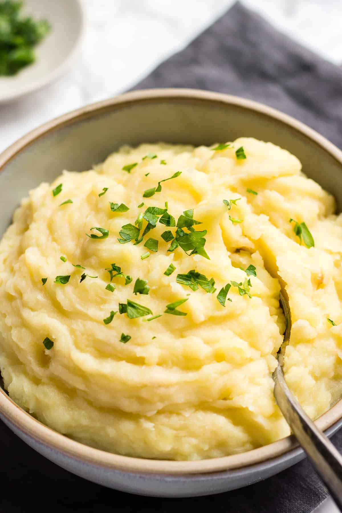 Potato mash in a bowl