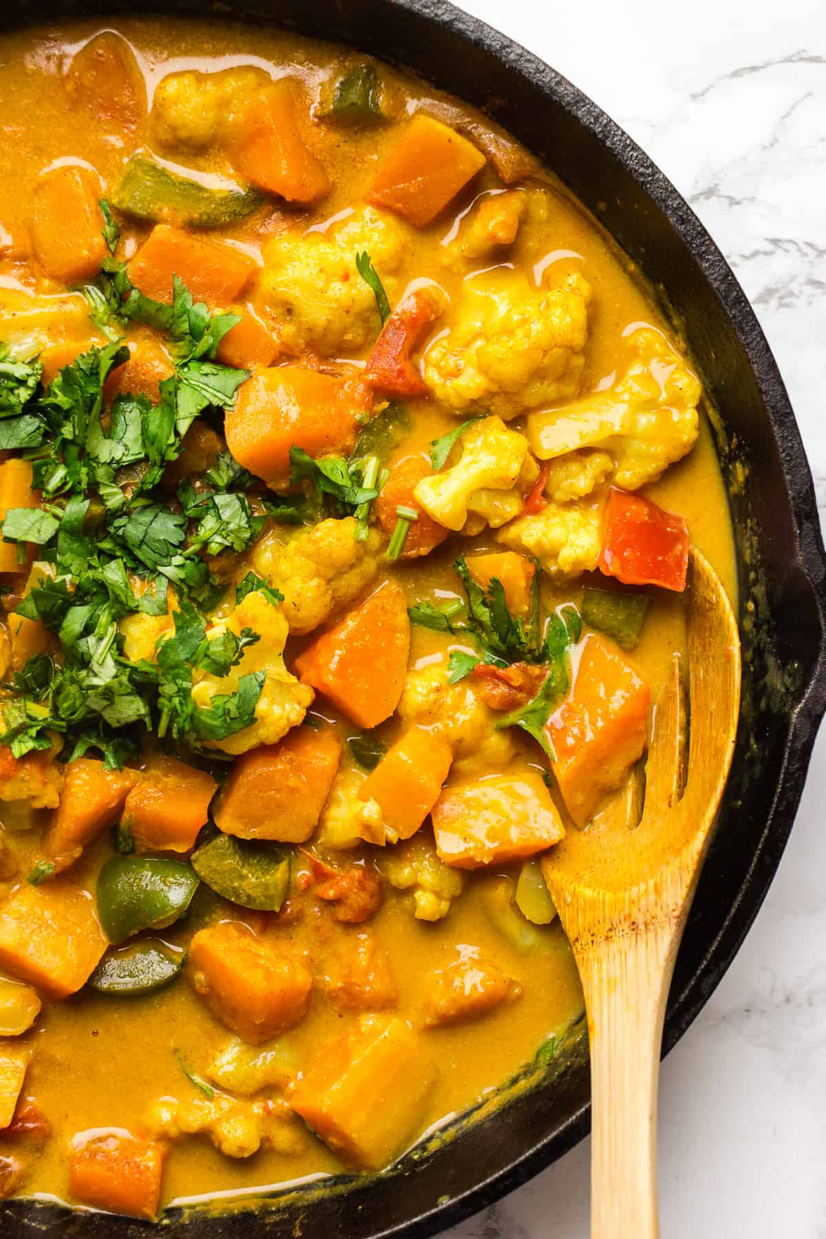 Cozy butternut squash stew