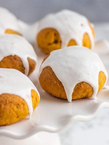 Canned pumpkin vegan cookies