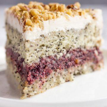 Vegan Poppy Seed Cake